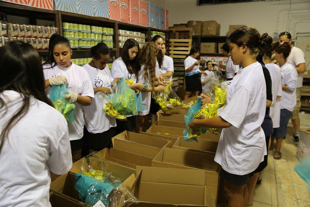 התנדבות בבת ים בעמותת חסדי נעמי