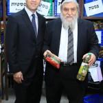 ביקור ראש עיריית ירושלים ניר ברקת בסניף חסדי נעמי בירושלים