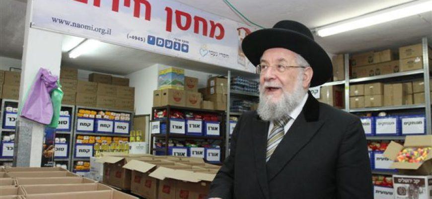 """הרב הראשי לת""""א יפו הרב ישראל מאיר לאו במכתב מרגש"""