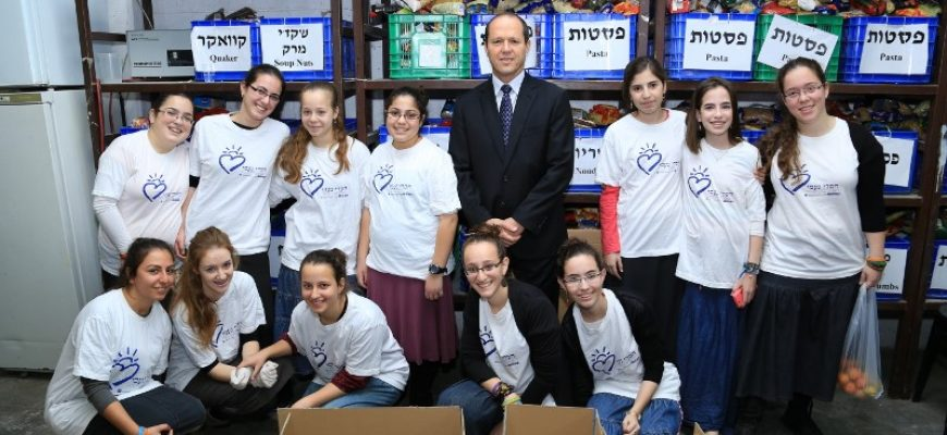 """רה""""ע ירושלים ניר ברקת בביקור בחסדי נעמי י-ם"""