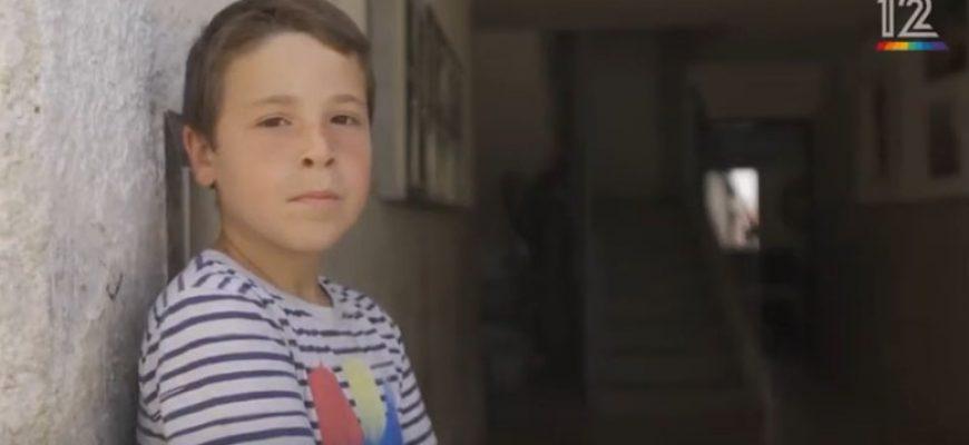 צפו בכתבה ששודרה בחדשות: עדות אישית ומצמררת מילד שחי בעניות