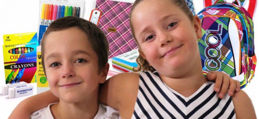 """התאומים שעולים לכיתה א' מגייסים ציוד לביה""""ס עבור ילדים נזקקים!"""